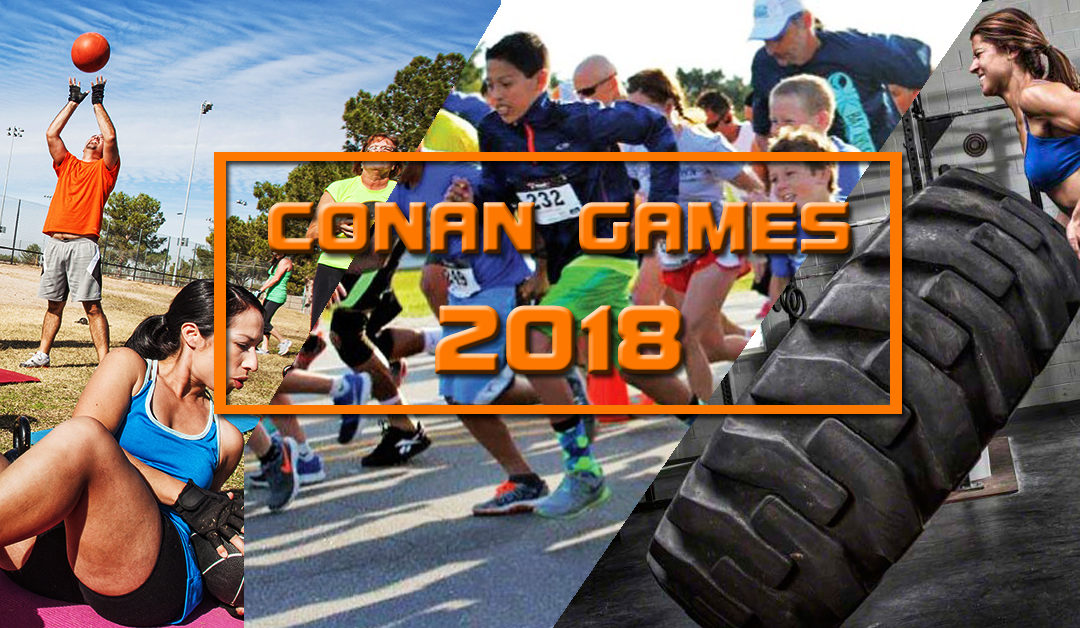 IRON FREAK BEI CONAN GAMES 2018